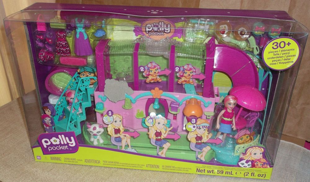 POLLY POCKET COLOR ME CUTE LEA W//  POLLY 2006 *NEW*