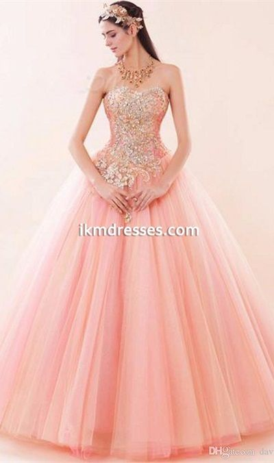 http://www.ikmdresses.com/Charming-Pink-Sweetheart-Lace-up-Puffy-Tulle-Prom-Dress-2016-Ball-Gown-Prom-Dresses-Bling-Crystal-Beaded-Sweet-16-Dress-Quinceanera-Dresses-Masquerade-Prom-Quinceanera-Ball-Gowns-p91127