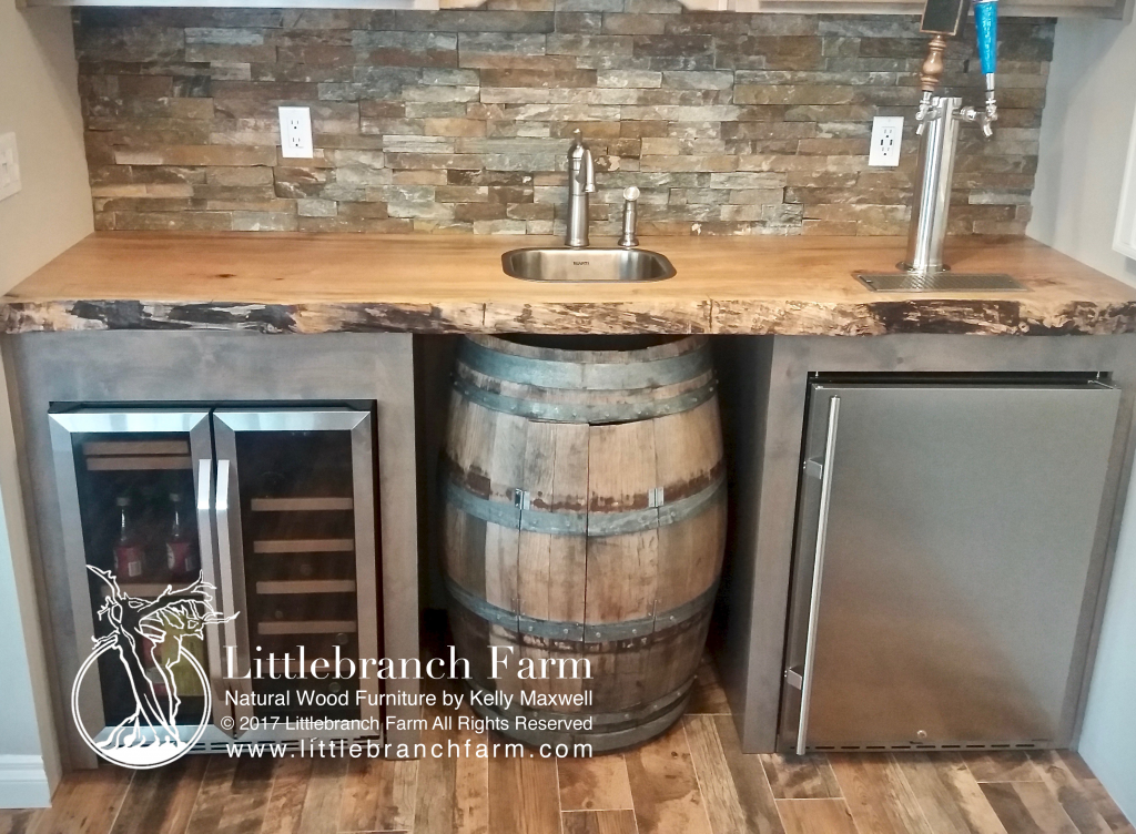 Natural Wood Countertops Live Edge Wood Slabs Littlebranch Farm Outdoor Kitchen Countertops Wood Countertops Wood Bar Top