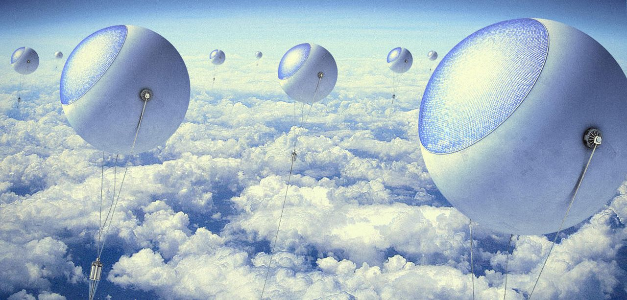 Solar Balloons Harvest Energy Above the Clouds 2