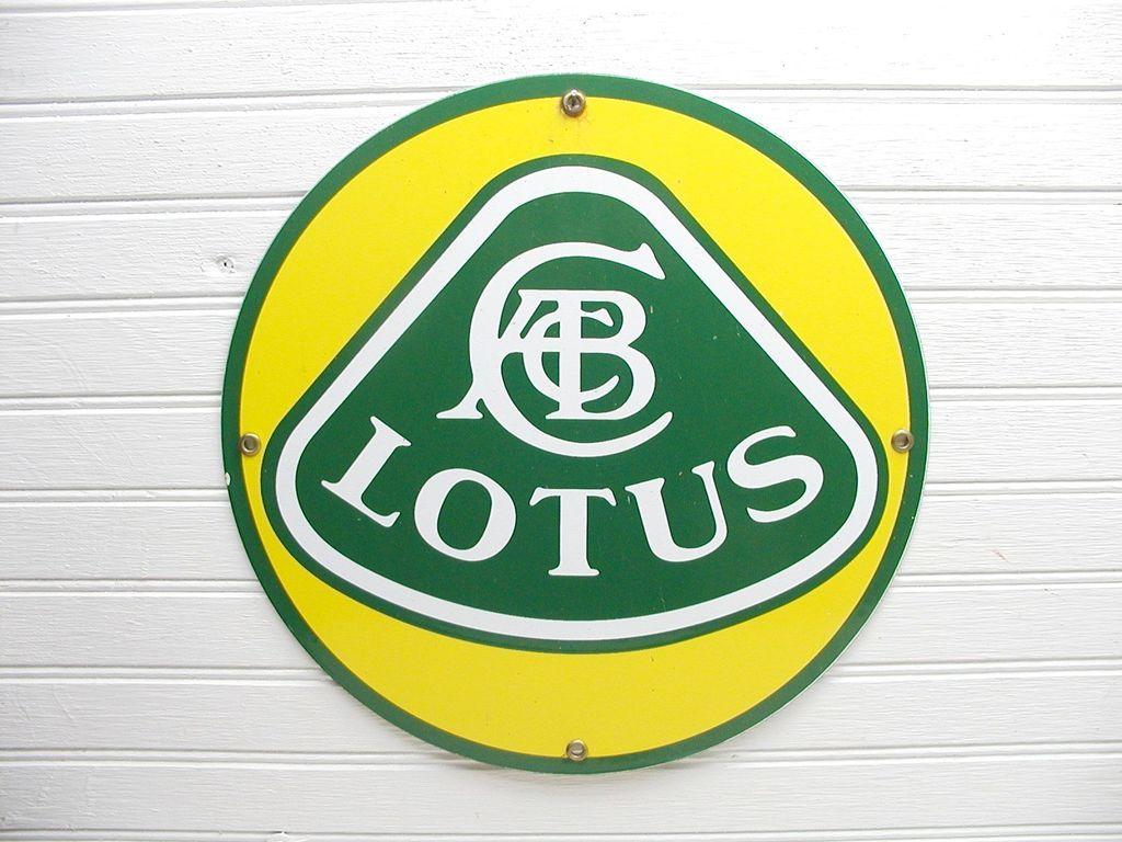 Lotus Esprit Turbo Metal Sign