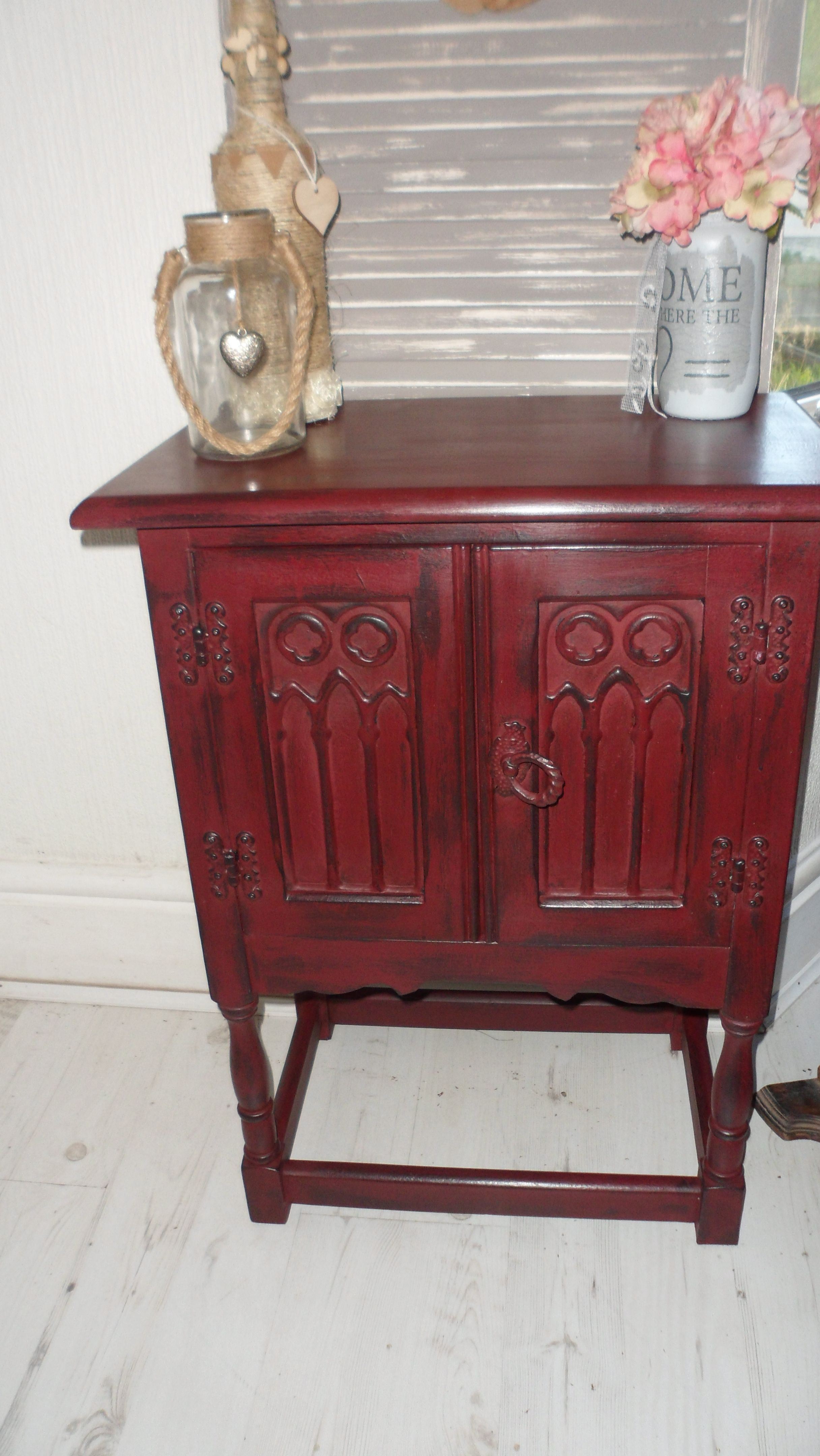 French Country Armoire Makeover