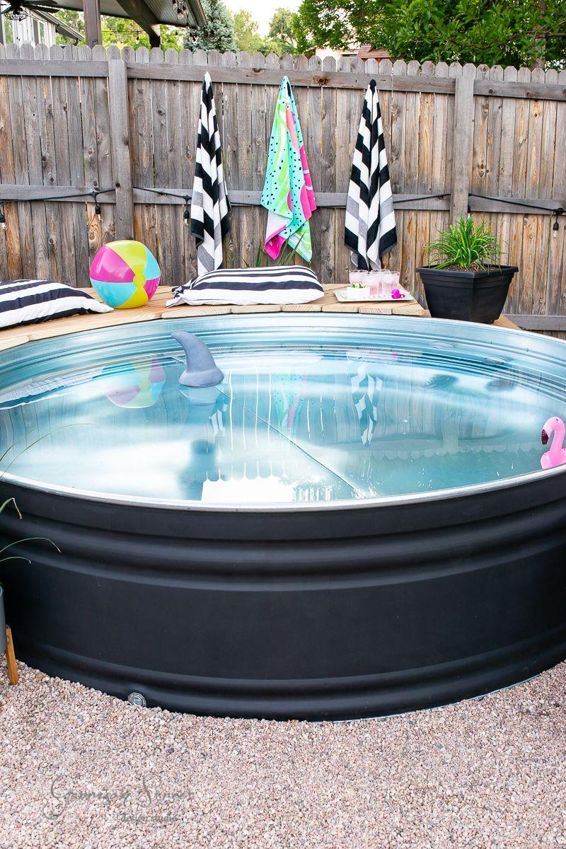 Diy stock tank pool garrison street design studio in
