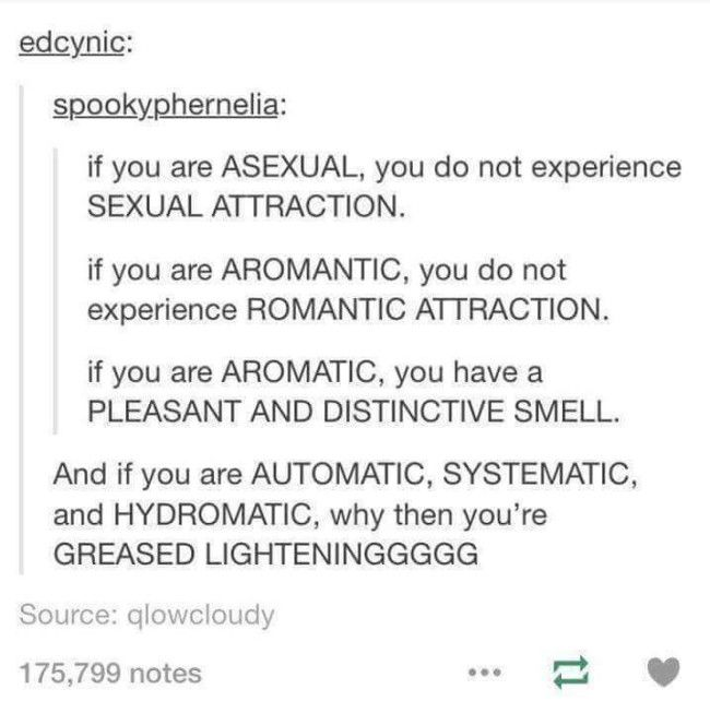 What is an aromantic asexual person