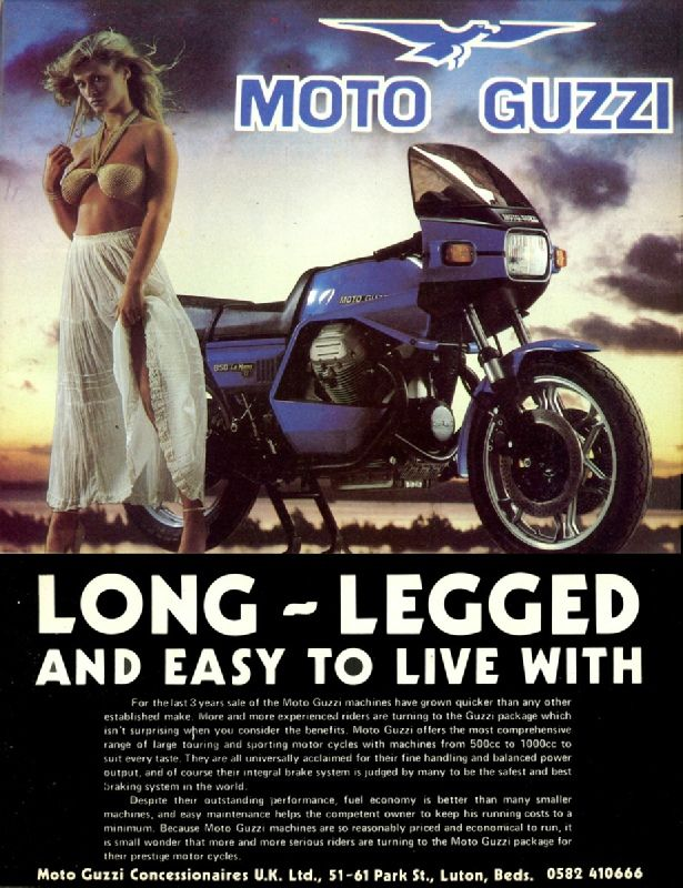 Image result for motorcycle ads | Moto Guzzi | Moto guzzi ...