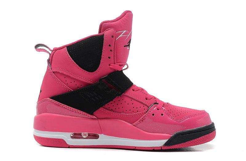 Item Name Women Air Jordan Flight 45 High Pink Black Shoes