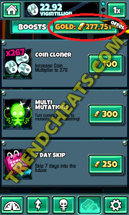 download the latest doomsday clicker hack tool ios android and get