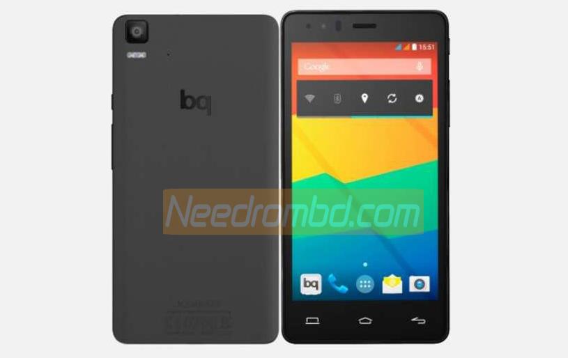 BQ Aquaris E5 HD MT6582 Official Firmware | Smartphone