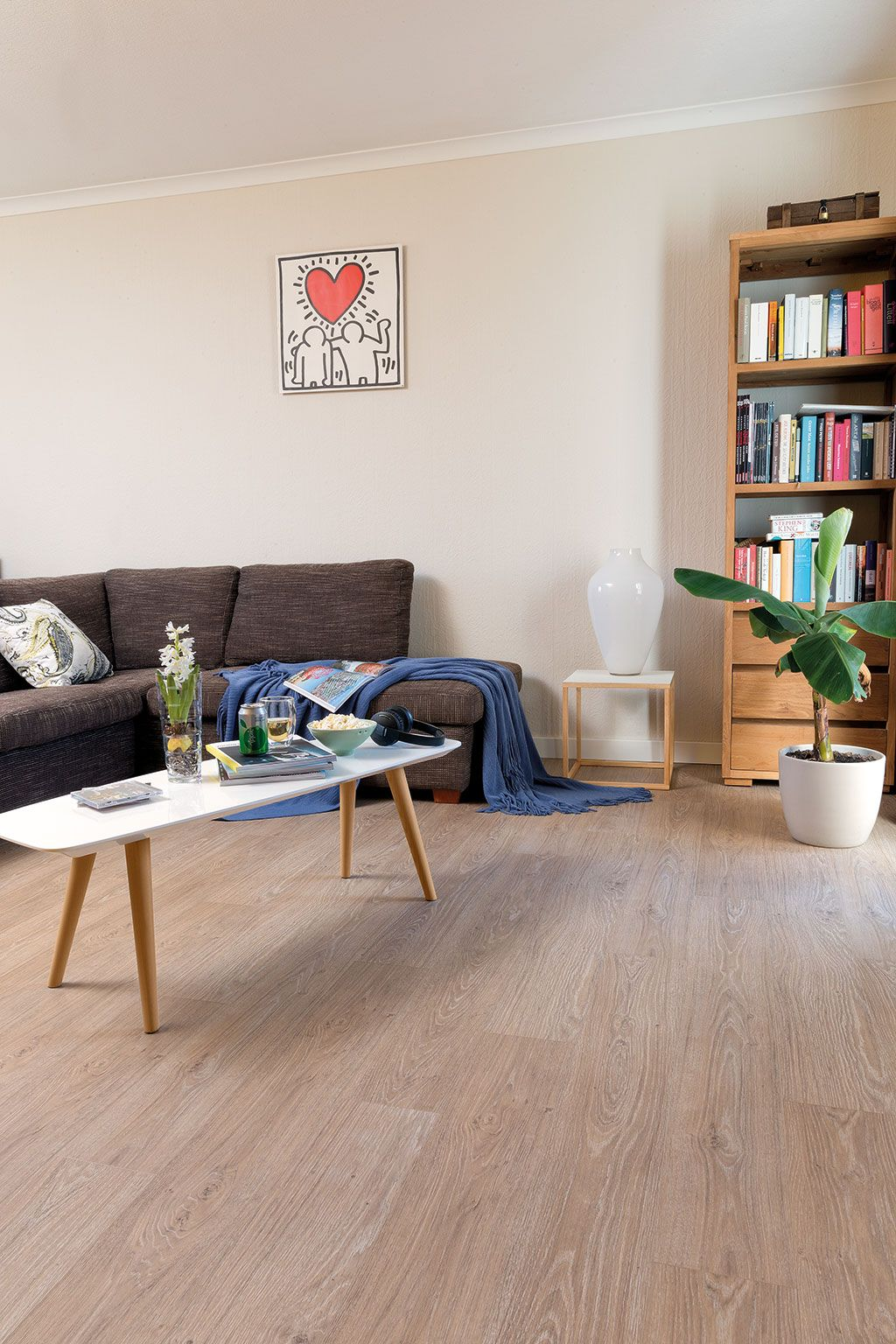 How to choose the ideal living room floor living room - Living room ideas with oak flooring ...