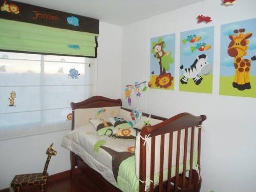 Lenceria bebe colecho cama cuna corral cuarto decoracion - Decoracion cuarto bebe ...