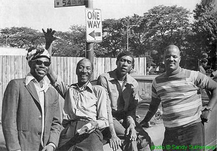 J.B. Hutto, Hound Dog Taylor, Brewer Phillips and Ted Harvey
