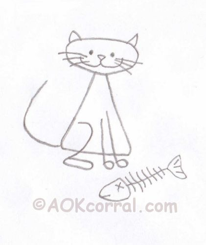 cat embroidery patterns cute kitty in three designs for hand