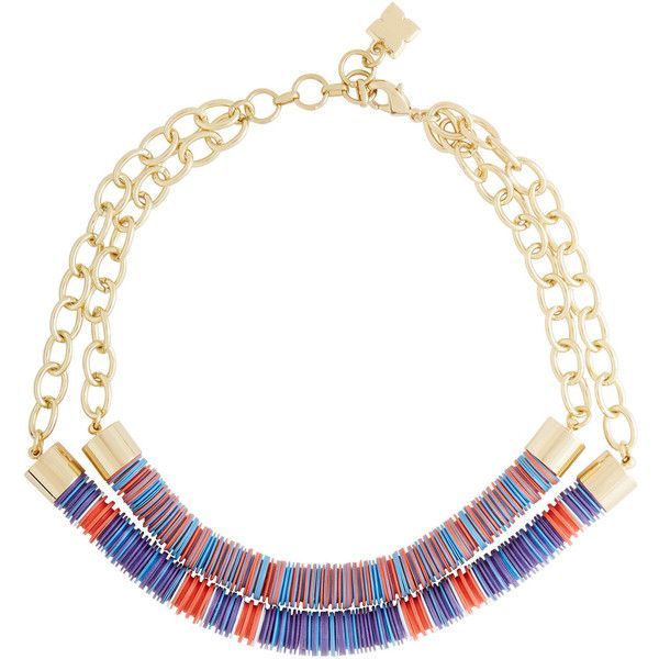 BCBGeneration Dual Beaded Chain Tribal Necklace F6NDQJFf