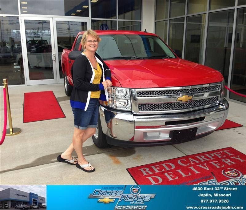 #HappyAnniversary to Cheryl Church on your 2013 #Chevrolet #Silverado 1500 from Bob  Stringer at Crossroads Chevrolet Cadillac!