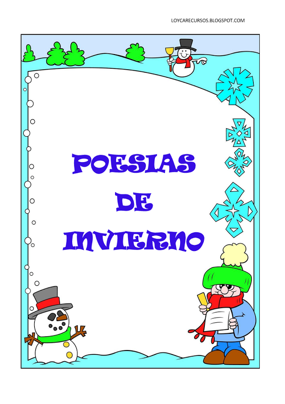 843512a543c9e33392975bbd1a8b673f poemas y rimas infantiles for Poemas de invierno