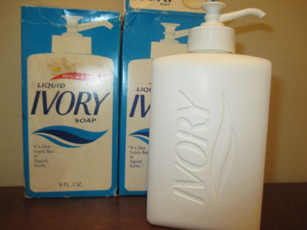 2 Rare 1982 Ivory Liquid Hand Soap 9 Oz Each Ebay Soap