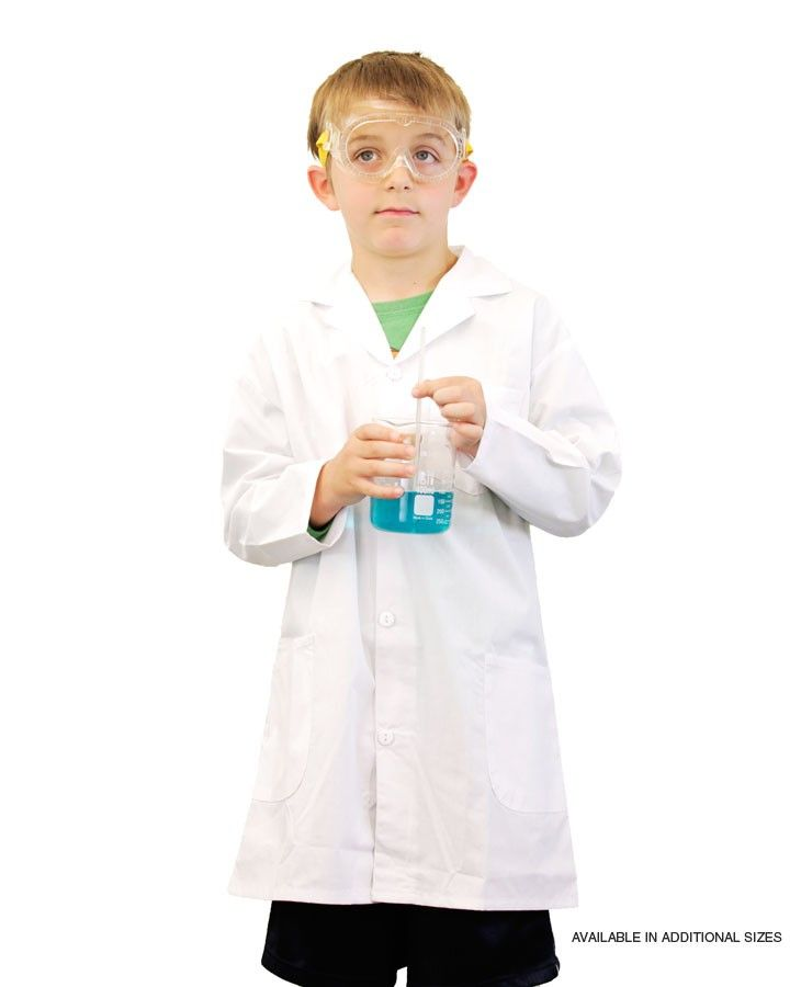 Lab Coat, child size 5-6 | Dear Santa | Pinterest | Lab coats ...