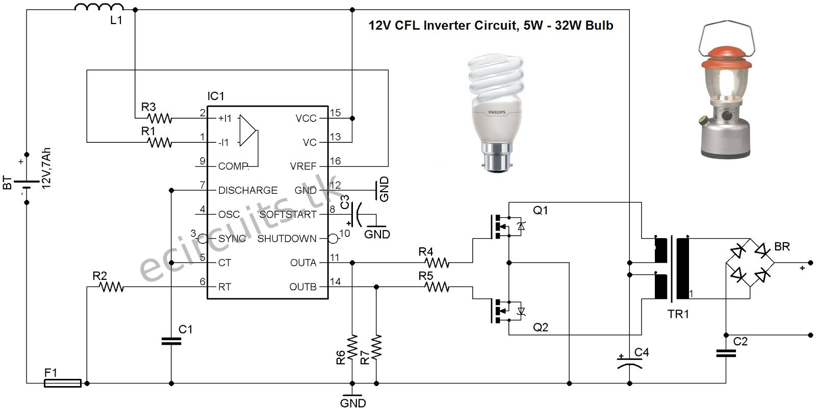 medium resolution of lighting schematics circuit skemarangkaian com emergency led emergency light circuit diagram cfl ballast circuit diagram led