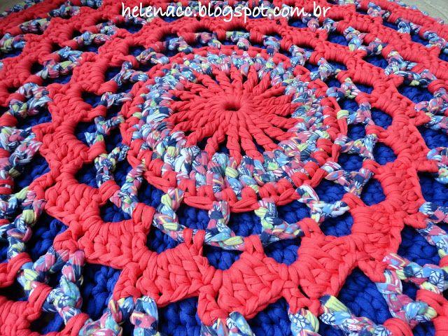 Um blog de crochet em fio de malha, trapilhos | trapillo | Pinterest ...