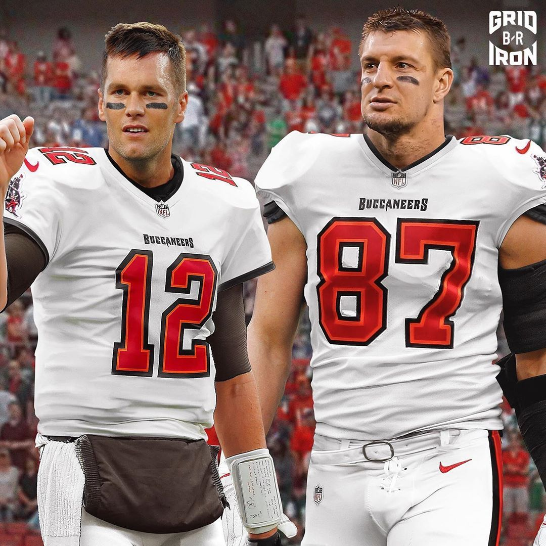 Bleacher Report On Instagram Tb12 And Gronk Reunion In Tampa Bay Brgridiron In 2020 Buccaneers Football Bucs Football Tampa Bay Buccaneers Football