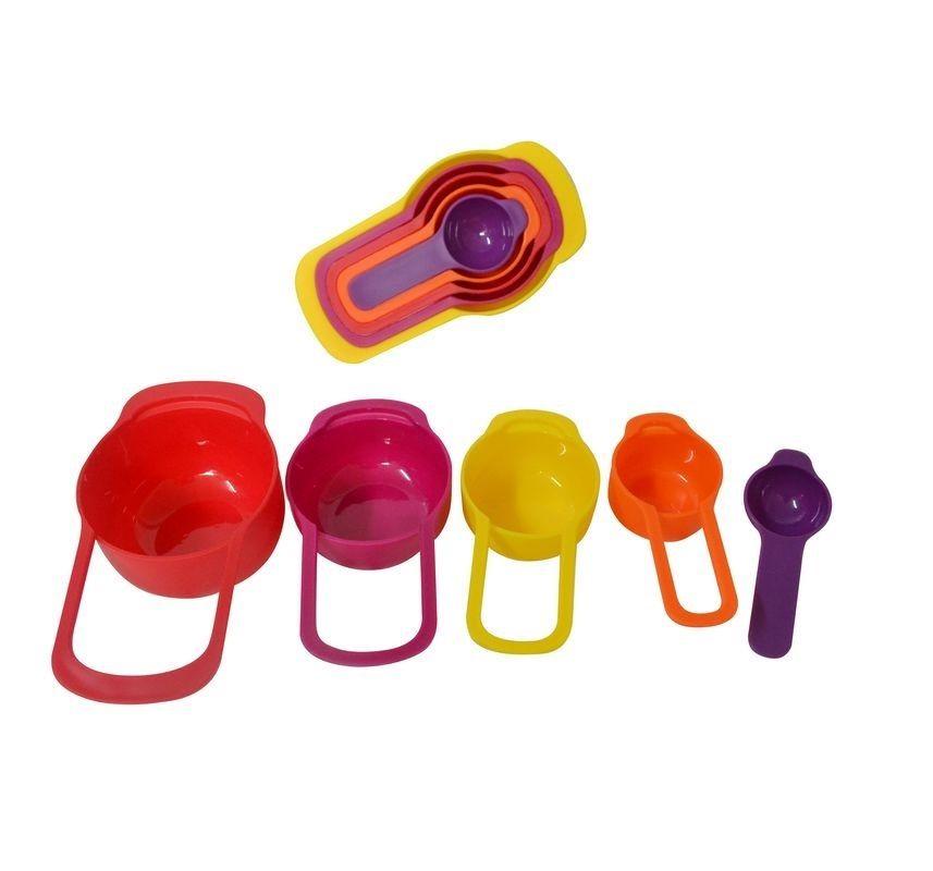 Conjunto De Medidor Colorido Com 5 Medidas - Dmc005 - R$ 14,54 em Mercado Livre