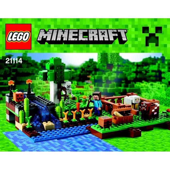Lego Minecraft The Farm Set 21114 Instructions Lego Ideas