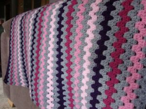 Granny stripe work in progress