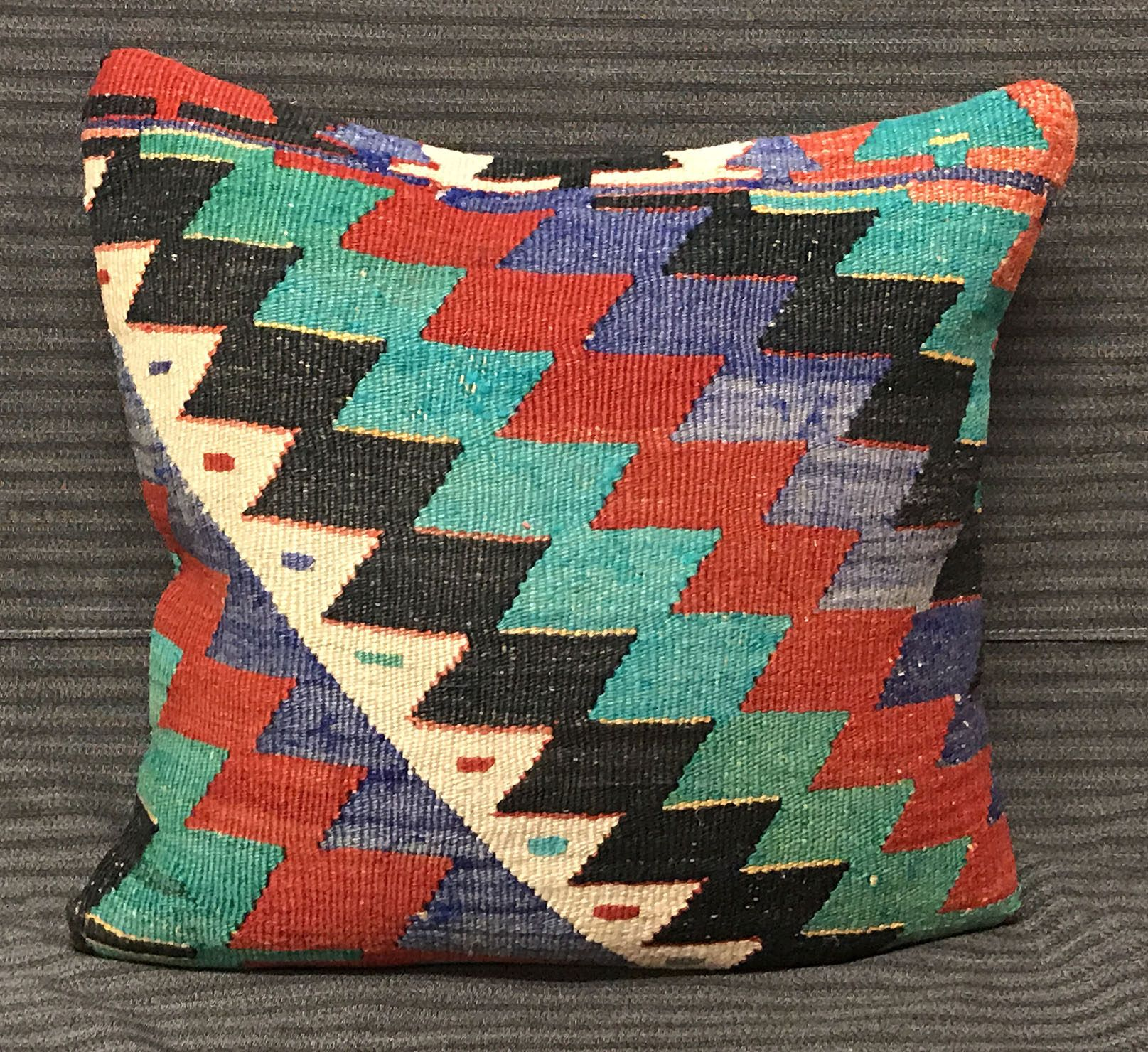pillow cm decor pin home traditional cover rustic inch pillows kilim