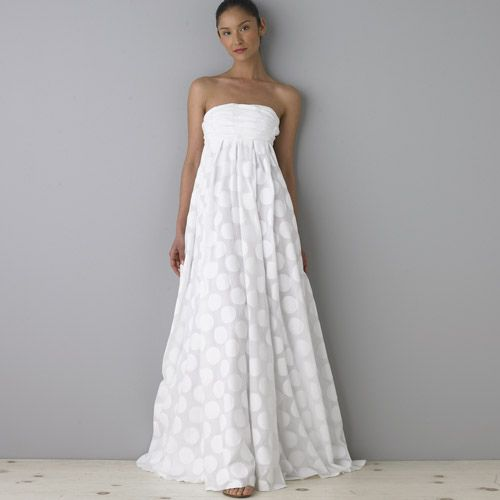 Polka Dot Pretties Polka Dot Wedding Dress Polka Dress Cute Wedding Dress