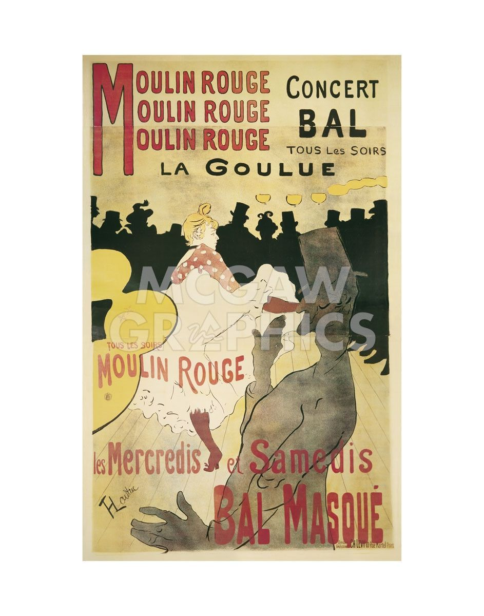 Moulin Rouge/La Goulue | Moulin Rouge and Products