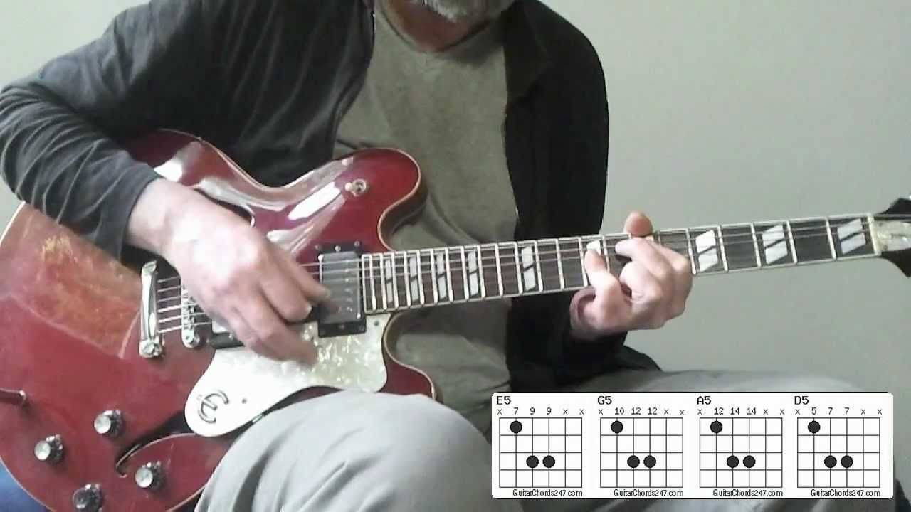 Acdc Guitar Tutorial Dirty Deeds Done Dirt Cheap Malcolm Young