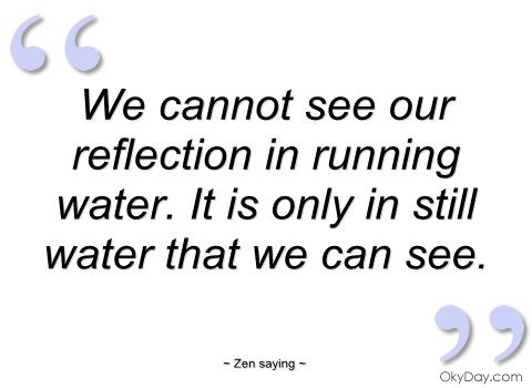 Quotes About Reflections In Water Quotesgram Quotes Funnies And