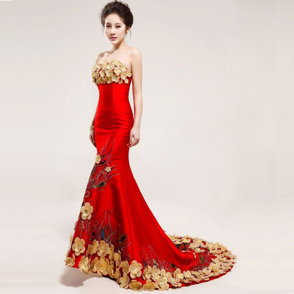 more Chinese Wedding dress - Google Search | Wedding possibilities ...