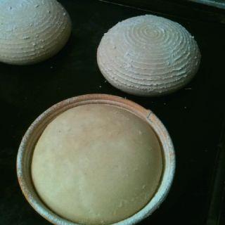 #roggebrood klaar voor de oven #rogge