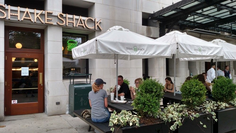 Shake Shack On Michigan Avenue