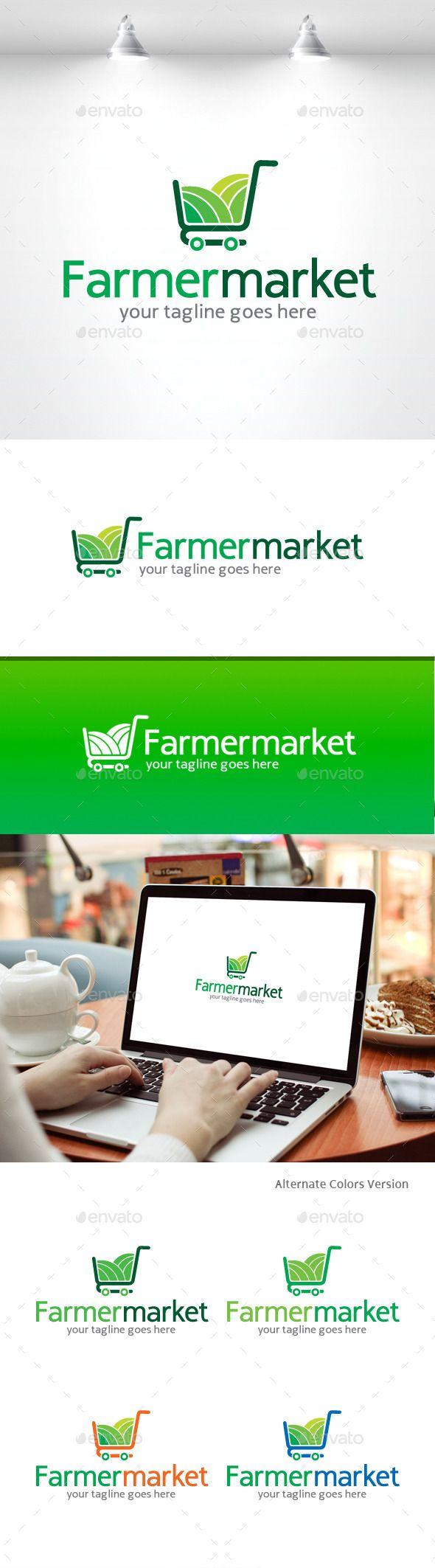 Farmer Market Logo by irmarosdalina Description �20AI