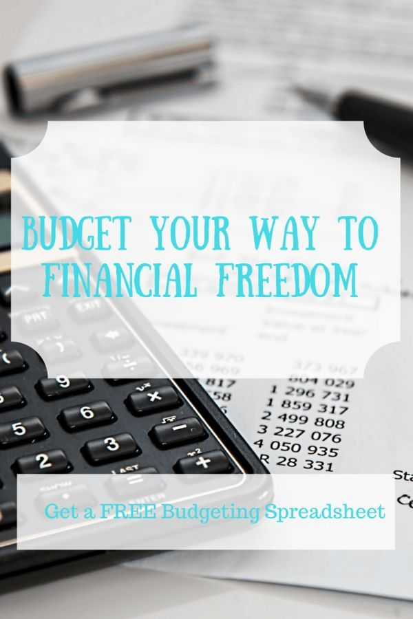 Building a Budget Your First Step to Financial Freedom Budgeting - Free Budgeting Spreadsheet