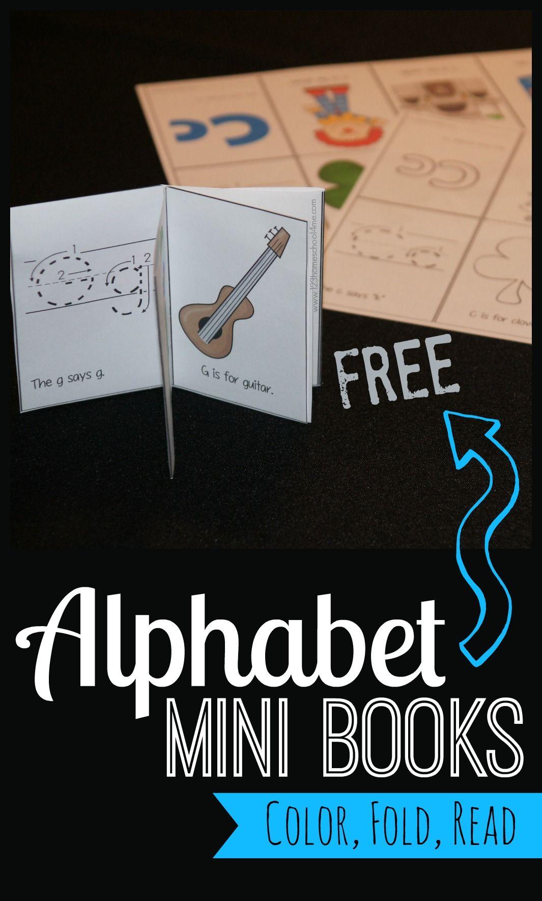 Alphabet Mini Book Printable