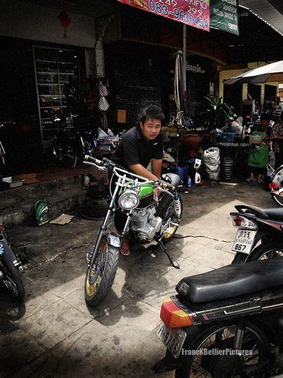 Thailand biker !