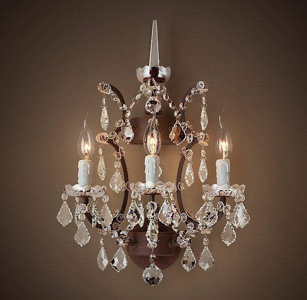 Dining Room Wall Sconces: Goes With Selected Chandelier