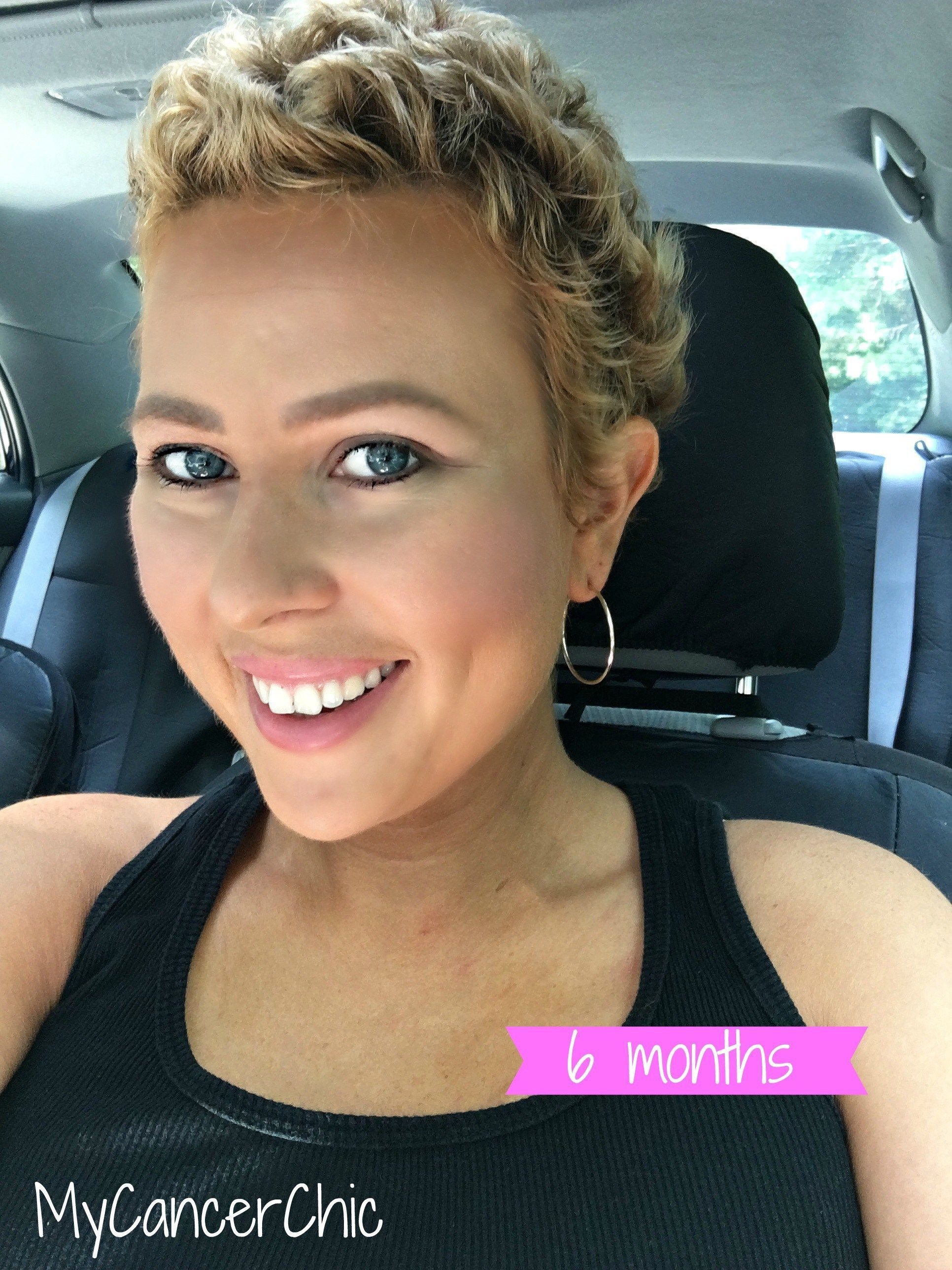 Chemo Regrowth How To Style Your Short Hair My Cancer Chic Hair Regrowth Women Chemo Curls Chemo Hair
