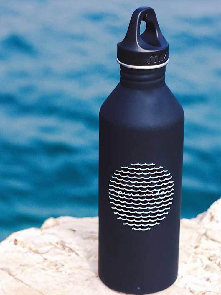 Tides Water Bottle   Pura Vida Bracelets   Pura vida ...