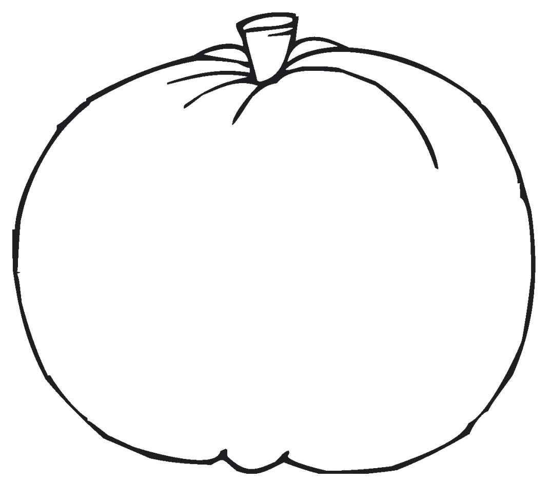 Pumpkin Coloring Pages For