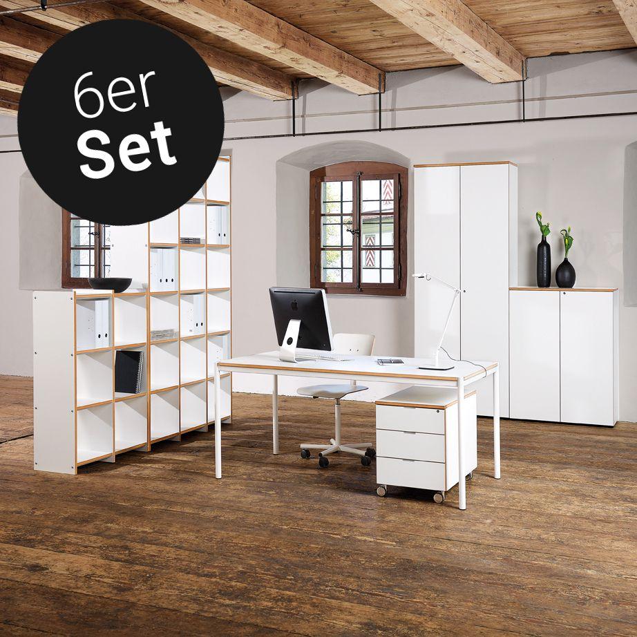 Reinhard - Archivar Büromöbel 6er-Set | Qualität: Schweizer ...