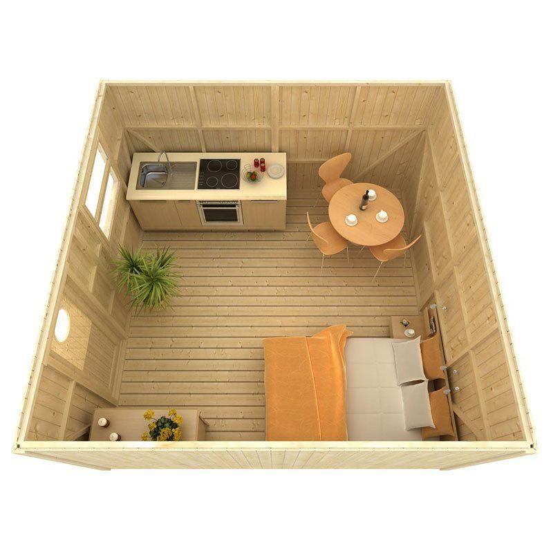Bildresultat för friggebod 20 kvm Compact living Pinterest