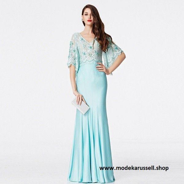 Abendkleid Roberte in Hellblau | Abendkleid, Langes kleid ...