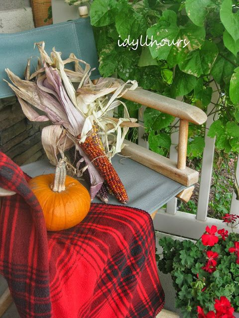 Idyllhours: A rustic birdie garland... and mad about plaid..- this blog always has beautiful pictures and inspiration!.