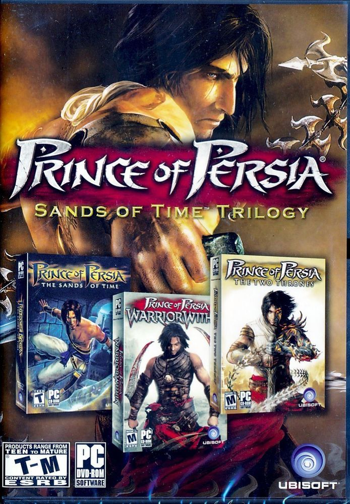 Prince Of Persia Sands Of Time Trilogy Pc Games Sealed New Free Shipping Prince Of Persia Trilogy Persia