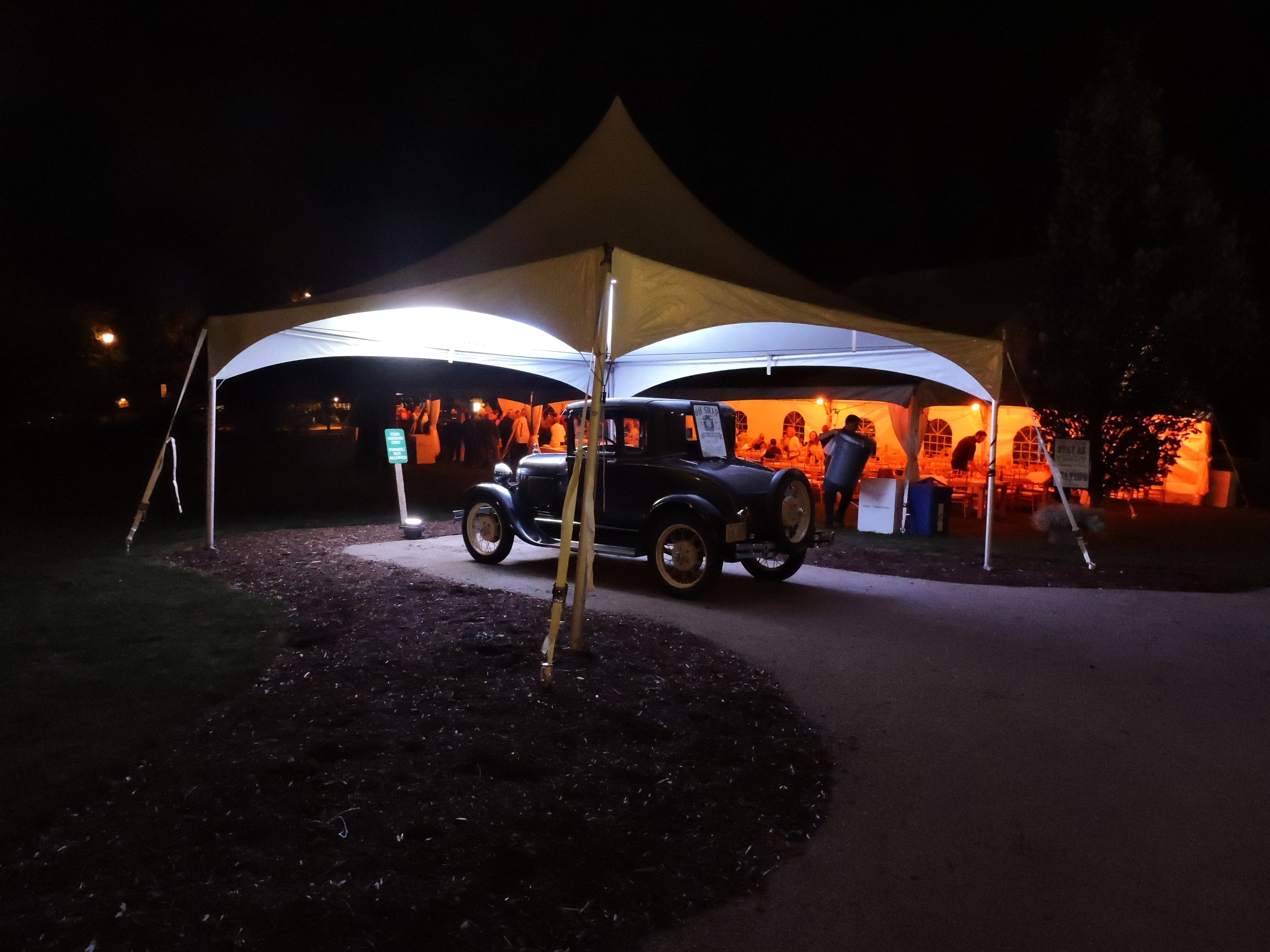 Palaceevents Provided Tent Lighting At Ewing Manor To