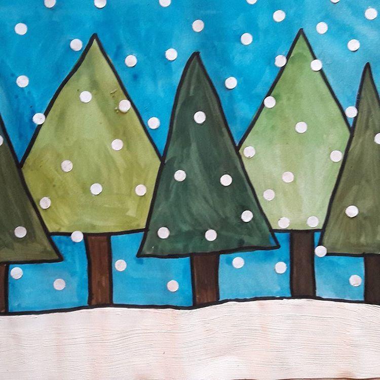Weihnachtsbilder Und Videos.Kunst In Der Grundschule Kunststunde Instagram Fotos Und